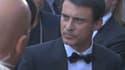 Manuel Valls au festival de Cannes samedi 16 mai.