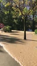 Débordement de l'Antenne aux Touches-de-Périgny  - Témoins BFMTV