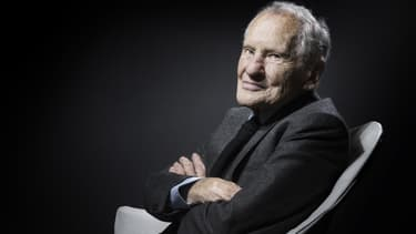 L'écrivain Jean d'Ormesson le 31 janvier 2017
