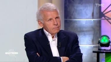 Patrick Poivre d'Arvor sur le plateau de l'émission Quotidien ce mardi 3 mars
