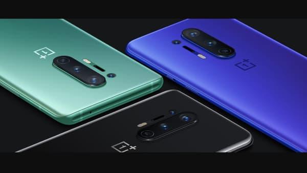 Les trois coloris du OnePlus 8 Pro