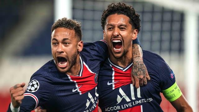 Neymar Jr & Marquinhos - Paris SG