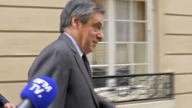 François Fillon début octobre 2017 à Paris