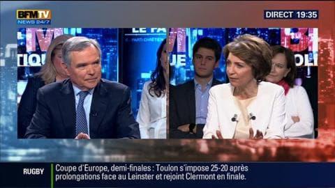 Marisol Touraine face à Bernard Accoyer dans BFM Politique