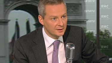 Le député UMP de l'Eure, Bruno Le Maire.