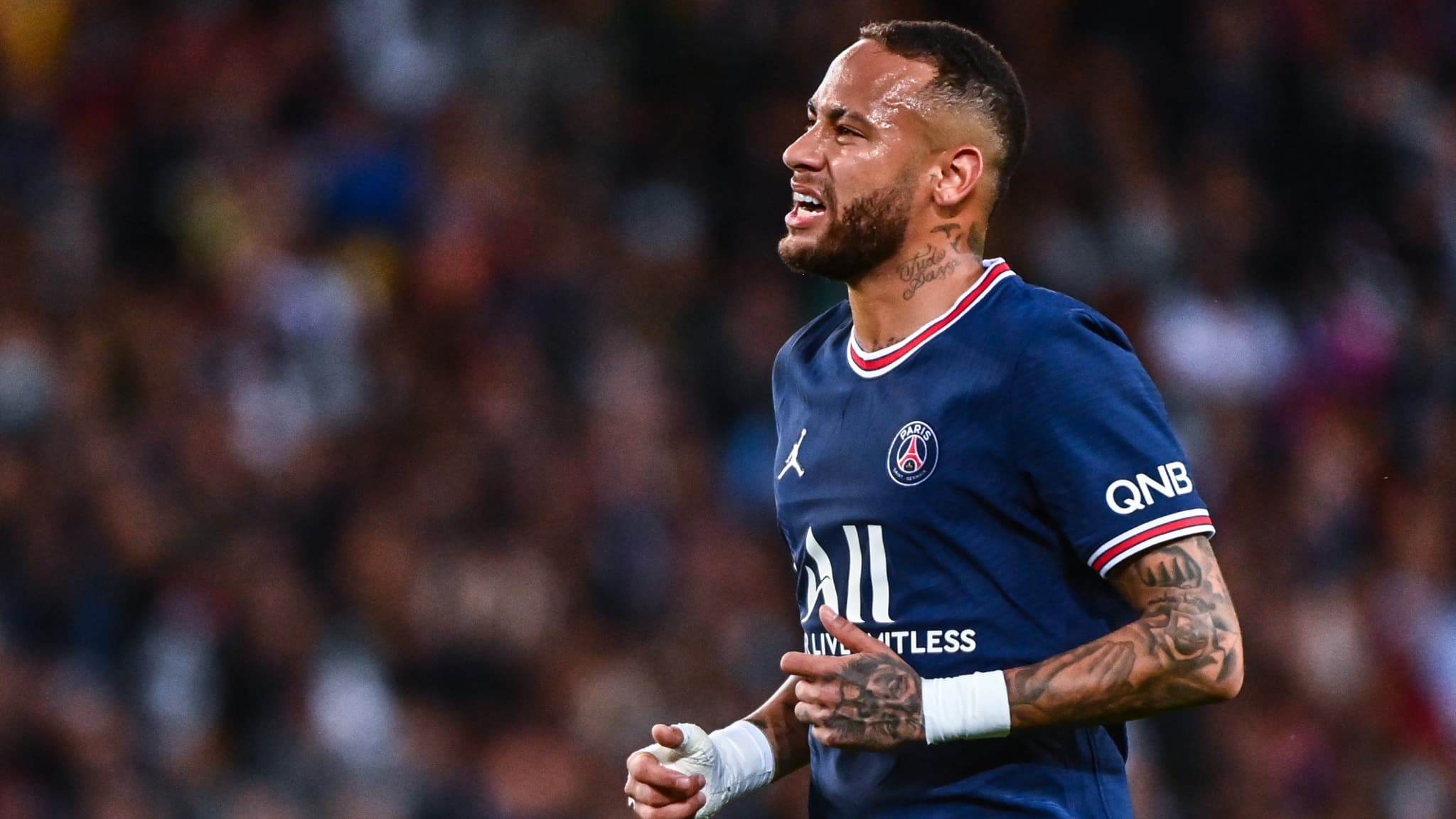 Neymar available for the classic OM-PSG