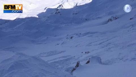Hors piste : 5 skieurs pris dans une avalanche
