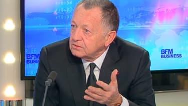 Jean-Michel Aulas était l'invité de Stéphane Soumier dans Good Morning Business ce 6 mars.