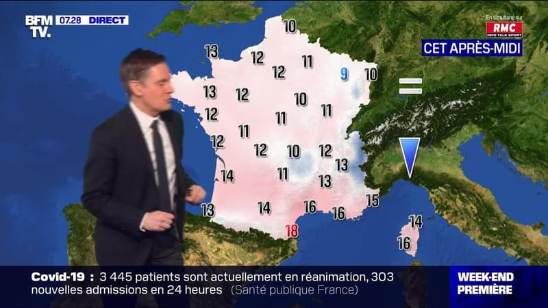 La météo pour ce samedi 27 février 2021