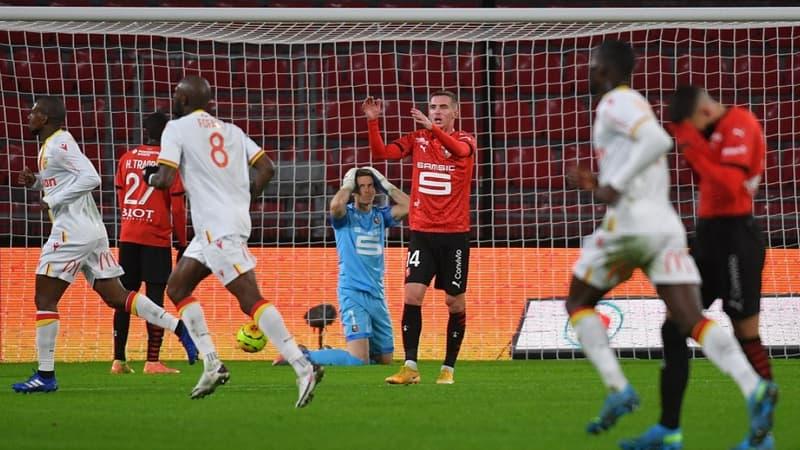 Ligue 1: Lens enfonce Rennes, qui poursuit sa série noire