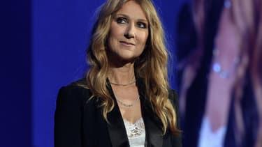 Céline Dion en concert à Paris le 24 juin 2016