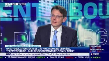 François Monnier (Investir) : Onze publications dans le CAC 40 la semaine dernière, 17 cette semaine... Quels enseignements peut-on en tirer ? - 26/10