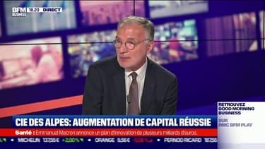 Dominique Marcel, Président du Conseil d'administration de la Compagnie des Alpes et Président de l'Alliance France Tourisme, était l'invité du Grand Journal de l'Eco sur BFM Business