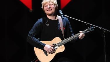 Ed Sheeran le 8 décembre 2017 à Londres