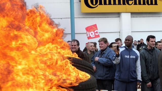 Sur le site de Clairoix, dans l'Oise, 683 salariés de l'usine ont été licenciés.