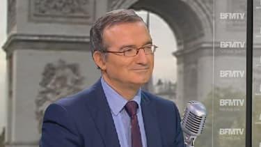 Hervé Mariton était l'invité de BFMTV