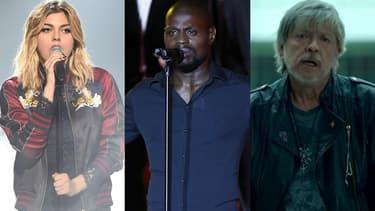 Louane, Kery James et Renaud ont tous trois rendu hommage aux victimes des attentats qui ont meurti Paris en janvier et en novembre 2015.