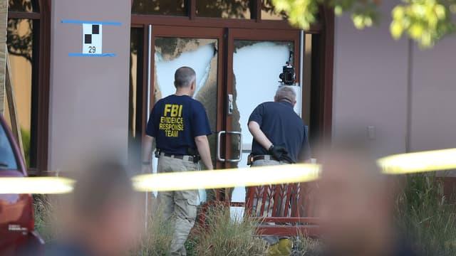 Une équipe du FBI sur la scène du crime de San Bernardino au mois de décembre dernier.