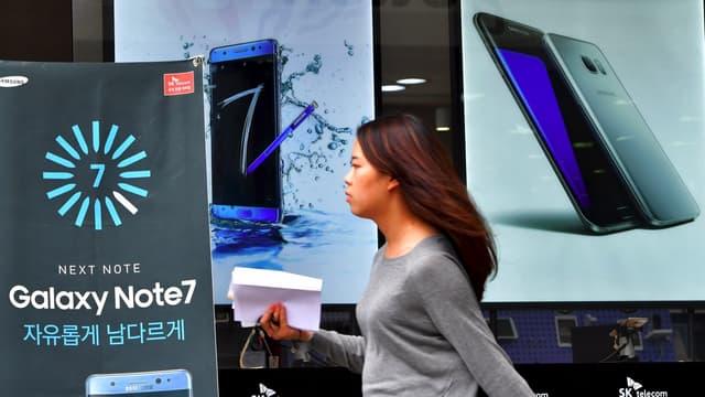 L'arrêt de la production du Galaxy Note 7 a eu de grosses conséquences sur l'image de Samsung.