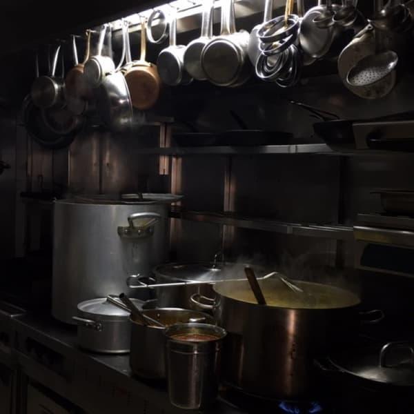 La cuisine de Nordine Labiadh s'est remise à tourner début avril.