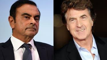 Carlos Ghosn et François Cluzet
