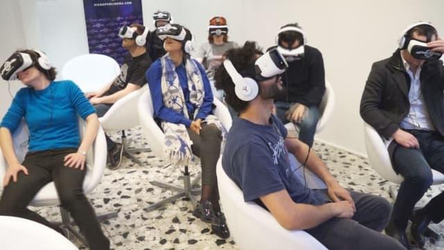 pickupVRcinema, la première salle de cinéma de réalité virtuelle à Paris, vient d'ouvrir ses portes ce 19 mai.