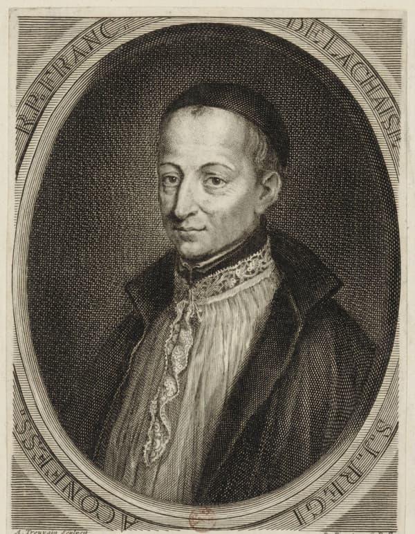 Portrait de François d'Aix de La Chaise dit père Lachaise.