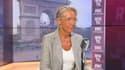 La ministre du Travail, Elisabeth Borne, sur BFMTV-RMC, le 30 août 2021.
