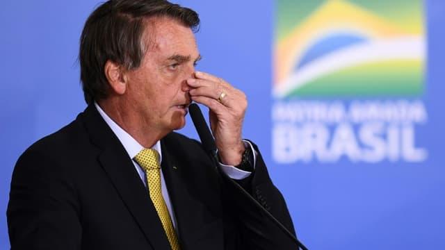 Jair Bolsonaro le 29 juin 2021 à Brasilia