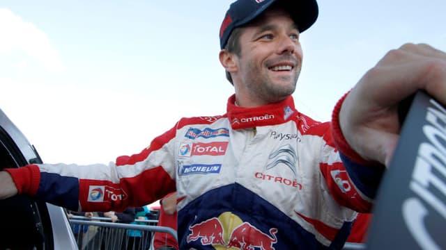 Sébastien Loeb peut être tout sourire, il vient de remporter son 8e titre de champion du monde WRC