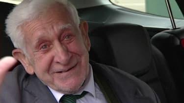 Bernard Jordan, 89 ans, s'était échappé de sa maison de retraite britannique jeudi, pour assister aux cérémonies du Débarquement, en Normandie.