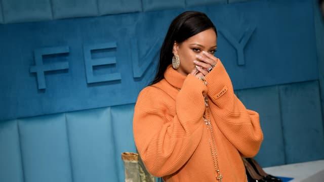 La marque Fenty avait été créée en 2019 par LVMH et Rihanna, qui en était la directrice artistique. Ici lors d'un show à New-York (Etats-Unis) en 2020.
