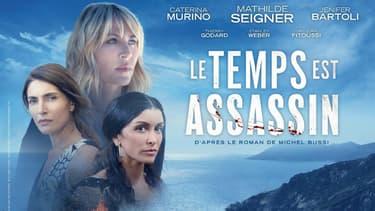 Affiche de la mini-série Le Temps est assassin