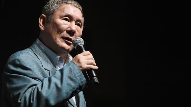 L'acteur et réalisateur Takeshi Kitano, en 2014 au Tokyo International Film Festival.