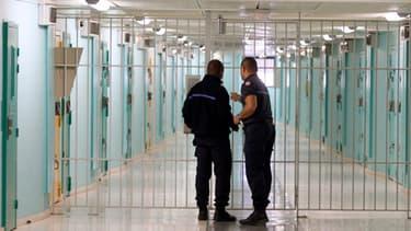 Dans la prison de Fleury-Mérogis.
