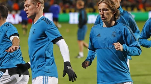 Luka Modric et Toni Kroos