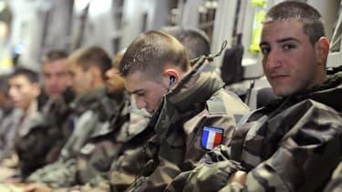 Soldats français en partance pour l'opération Serval au Mali, le 24 janvier dernier.