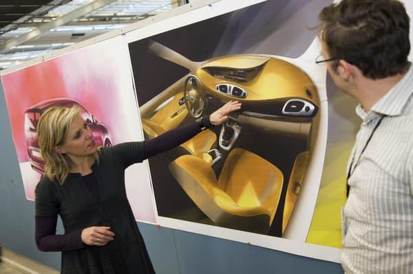 Les derniers Scénic et Mégane ont été conçus avec Agneta Dahlgren aux commande.