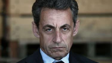 Nicolas Sarkozy lors d'un meeting à Kriegsheim, dans le Bas-Rhin, le 9 juillet 2016.