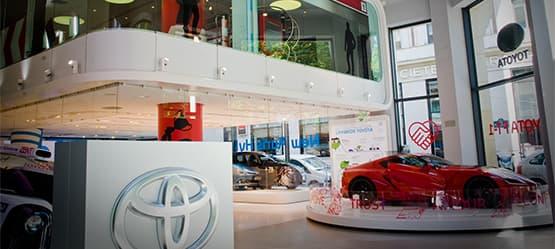"L'exposition ""Toyota Creative Design"" durera jusqu'au 11 juillet prochain."