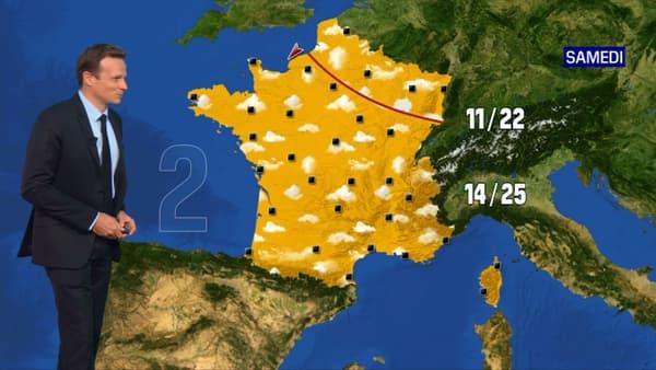 Les prévisions météo du samedi 29 mai 2021.