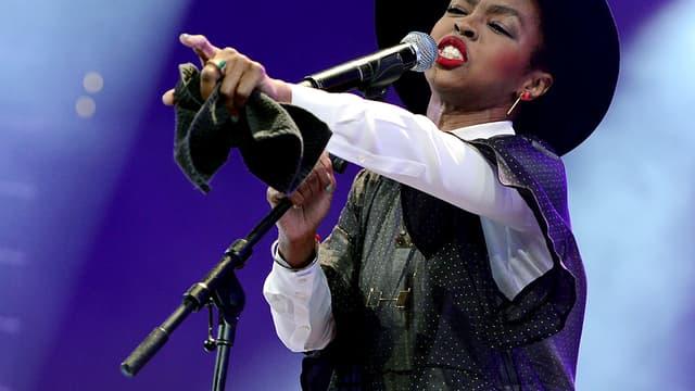Lauryn Hill, ici lors d'un concert à New York le 5 février dernier, vient de diffuser une chanson écrite en relation avec les événements de Ferguson.