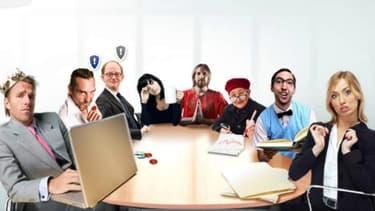 """Voici les conseillers de la BCE, caricaturaux, dans le jeu """"Economia"""""""