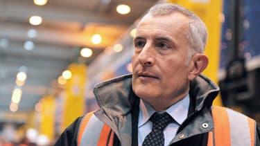 Guillaume pépy, président de la SNCF, le 11 octobre 2013, à Pantin.