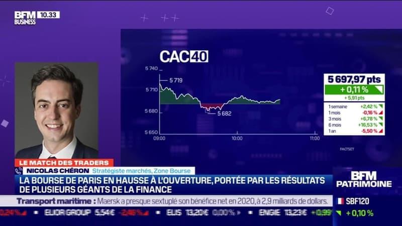 Le Match des traders : Nicolas Chéron vs Jean-Louis Cussac - 10/02