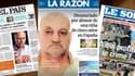 """Les unes de journaux marocains et espagnols mardi sont pour la plupart consacrés au """"Danielgate""""."""