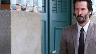 L'acteur et producteur canadien Keanu Reeves, le 4 septembre 2015 à Deauville
