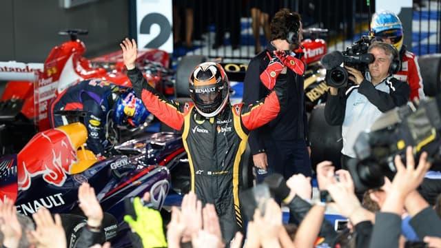 Kimi Raikkonen, premier leader de la saison