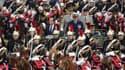 François Hollande a présidé samedi matin son premier défilé militaire du 14-Juillet sur les Champs-Elysées. /Photo pris ele 14 juillet 2012/REUTERS/Mal Langsdon