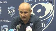 """Montpellier 15-17 Toulouse : Saint-André """"frustré"""", Ramos """"content du caractère montré à 13"""""""